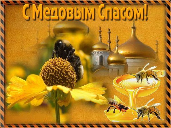 Картинка на праздник Медовый Спас