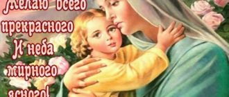 Красивая открытка с пожеланием на Благовещение