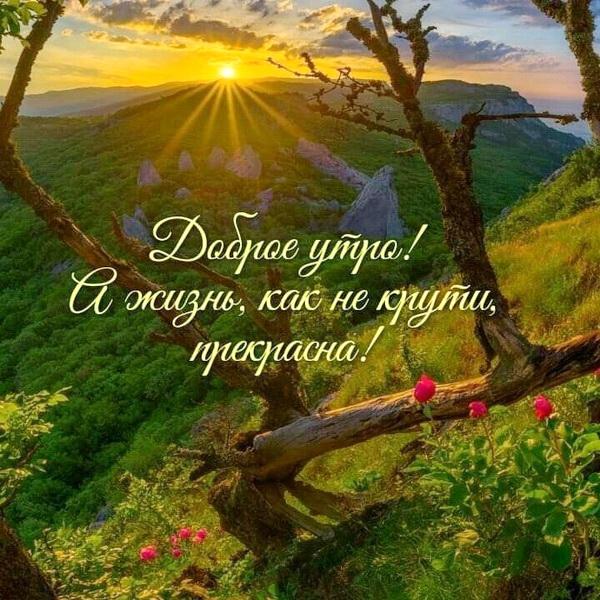 Картинки с природой «доброе утро»