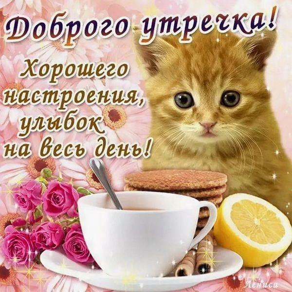 Пожелание с добрым утром в прозе