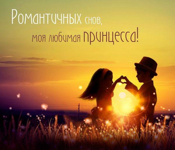 Романтичный снов, моя любимая принцесса