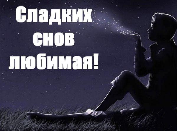 Сладких снов, любимая