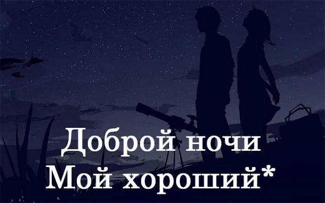 Доброй ночи, мой хороший