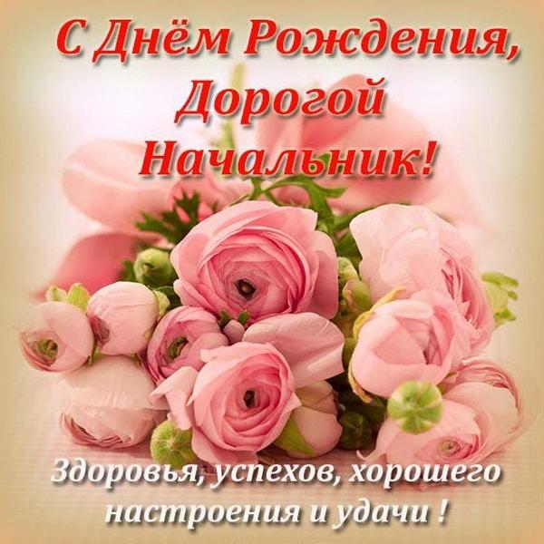 Красивое пожелание на день рождения начальнику женщине
