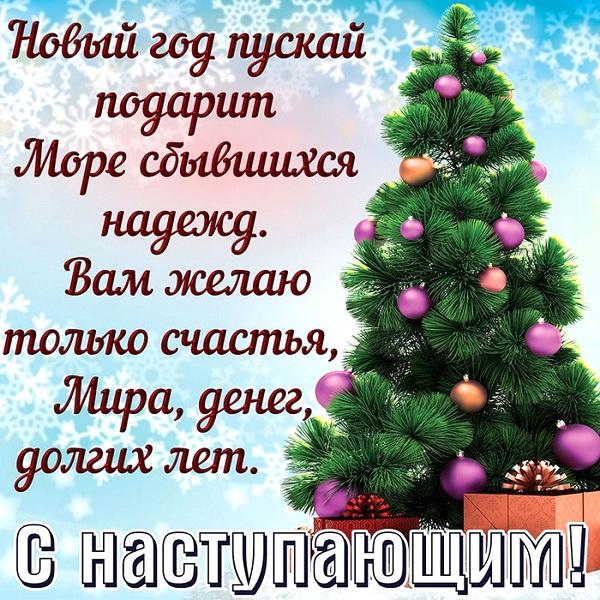 Пожелание на Новый год свату
