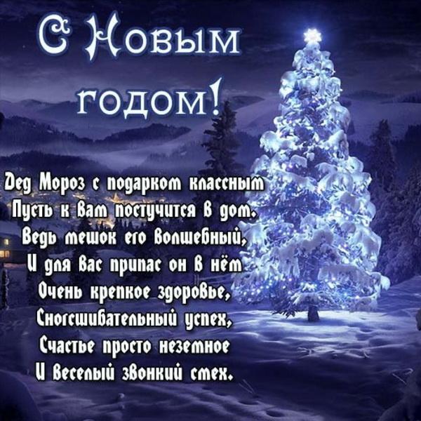 Поздравление с Новым годом зятю