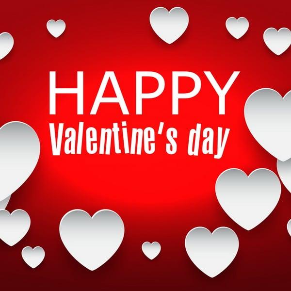 С Днем Святого Валентина на английском языке