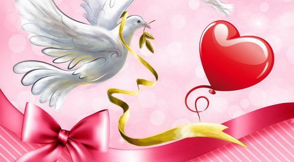 Пожелание на День святого Валентина дочери