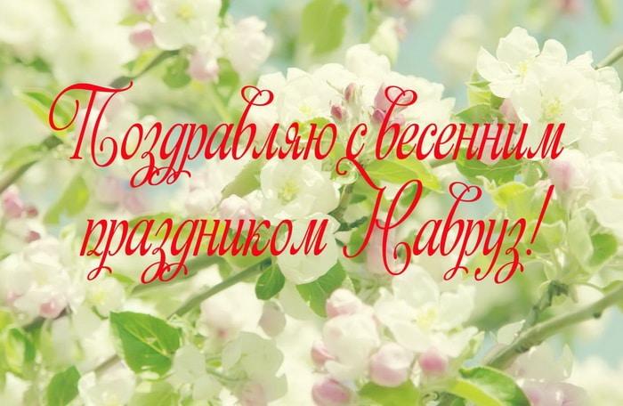 Поздравляю с весенним праздником Навруз