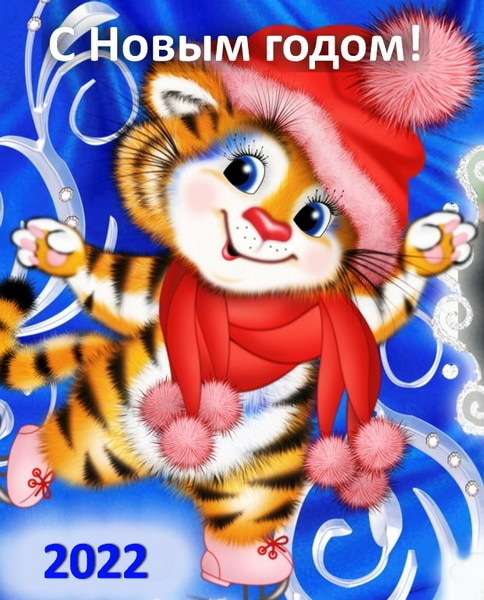 Новый год Тигра 2022